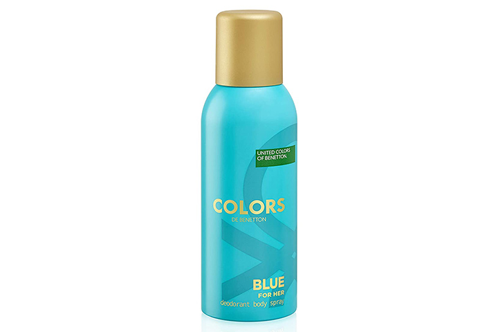 United Colors Of Benetton Colours Blue For Her Deodorant1