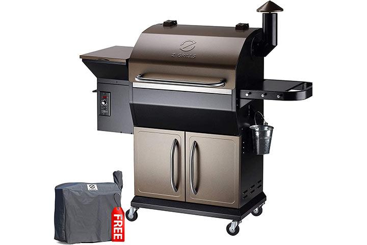 Z GRILLS ZPG-1000D 2020 Wood Pellet Grill & Smoker