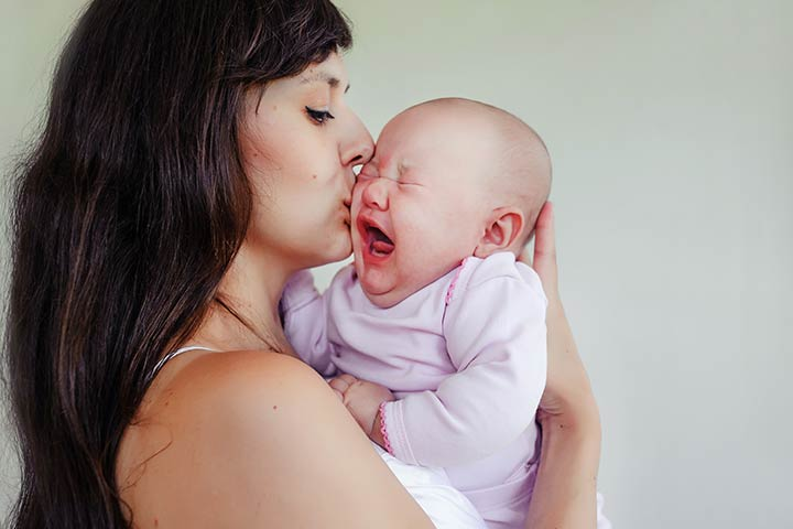 Baby Crying During Breastfeeding In Hindi