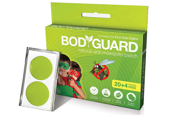 Bodyguard Mosquito Repellent Patches
