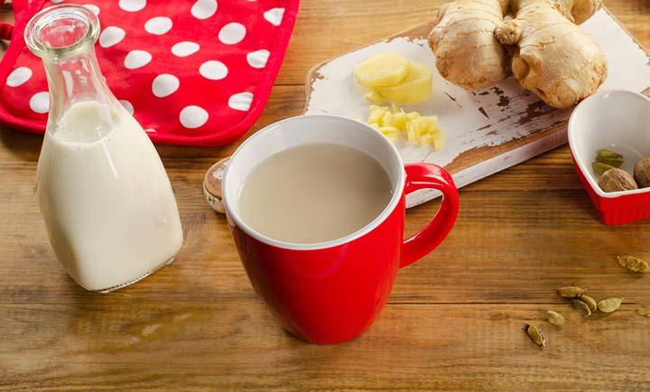 Ginger milk