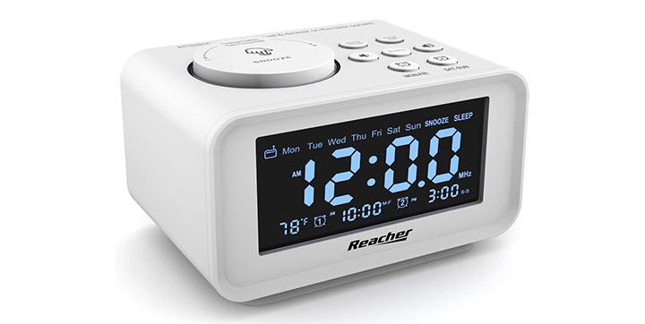 Reacher Dual Alarm Clock Radio