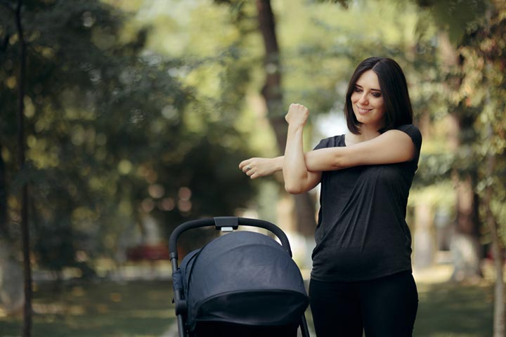 This is a good way to reduce postpartum weight gain