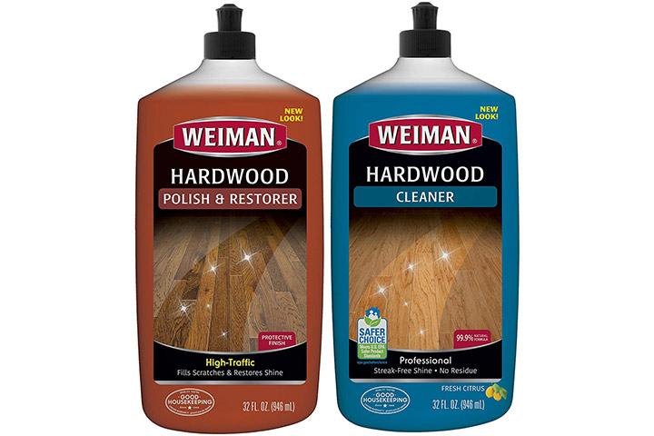 Weiman Hardwood Floor Cleaner And Polish Restorer