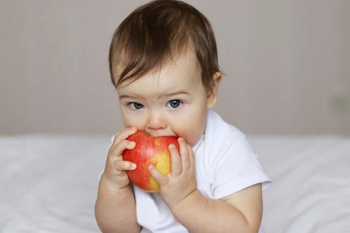 baby ke liye apple seb fayde nuksan puree recipes