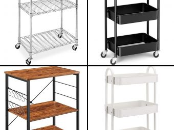 11 Best Kitchen Carts To Buy In 2021