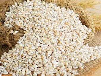 बच्चों के लिए जौ : कब देना शुरू करें, स्वास्थ्य लाभ व आसान रेसिपी   Barley For Babies In Hindi