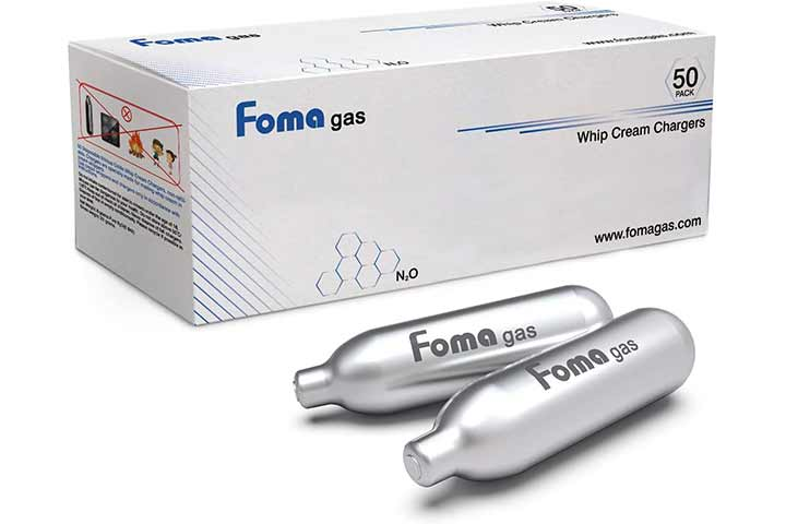 Foma Gas Whipped Cream Chargers