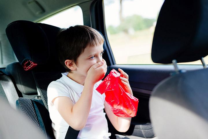Motion Sickness In Kids