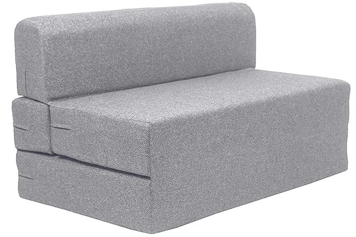 Coirfit Jute Fabric Washable Cover Folding Sofa