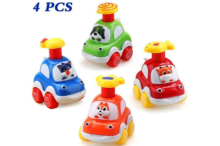 Amy & Benton Cartoon Car Set