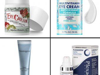 17 Best Anti-Wrinkle Under Eye Creams To Fight Wrinkles And Dark Circles