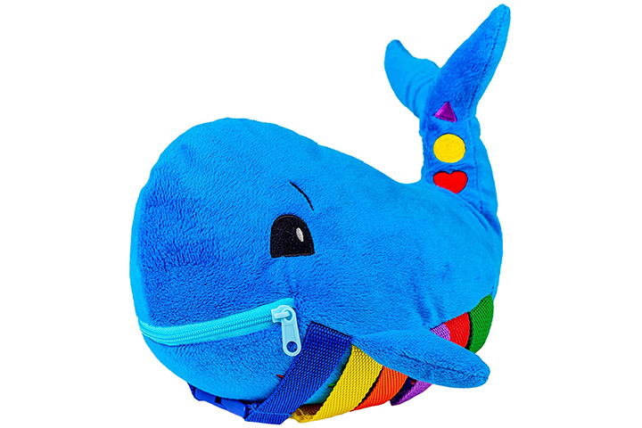 Buckle Toy Blue Whale