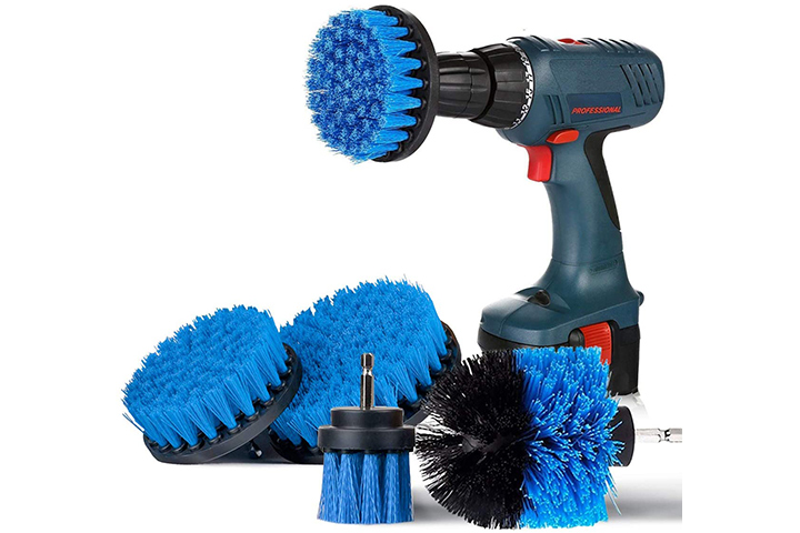Safetyon Drill Brushes 4 Pieces Attachment