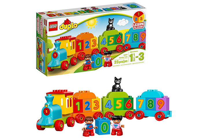 Lego Duplo Number Train For 2-Year-Olds
