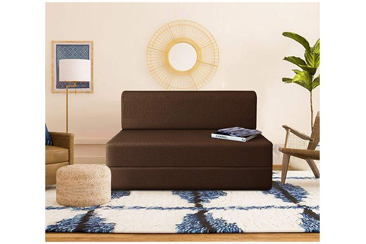Dr. Smith Moshi Fabric Sofa Cum Bed