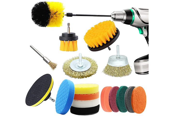 TXSTBGO Drill Brush Attachments