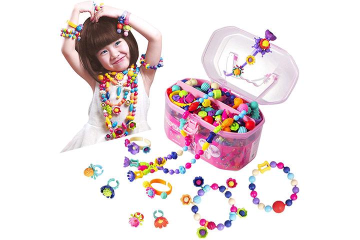 Biranco Pop Beads Jewelry Making Kit