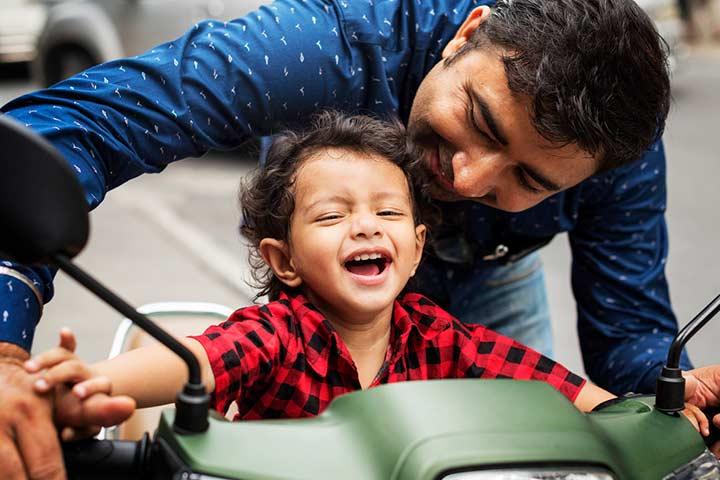 Celebrate father status