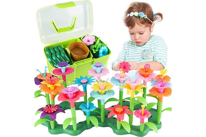 Cenove Flower Building Toy Set