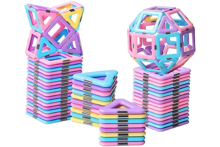 Homofy Castle Magnetic Blocks