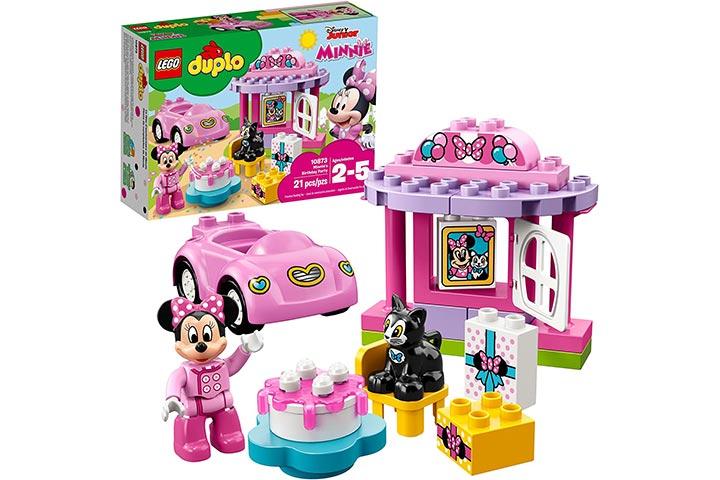 Lego Duplo Minnie's Birthday Party Building Blocks