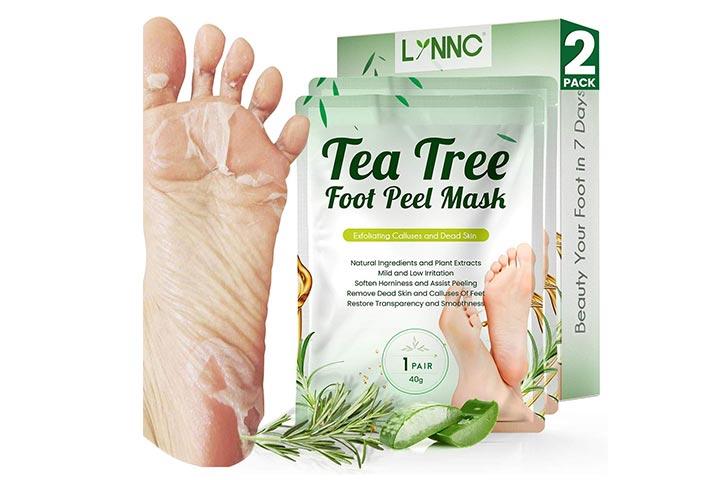 Lynnc Tea Tree Foot Peel Mask