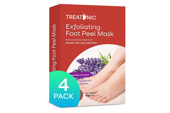 Treatonic Exfoliating Foot Peel Mask