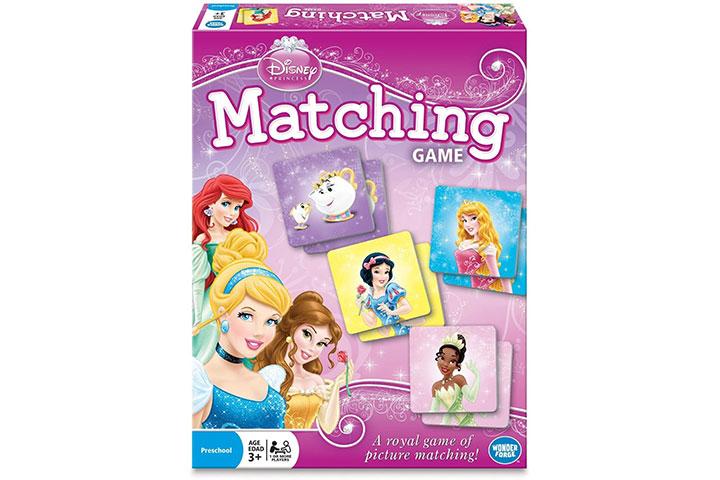 Wonder Forge Disney Matching Game