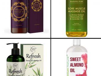 15 Best Body Massage Oils For Glowing Skin In 2021