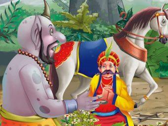 अकबर-बीरबल: हरे घोड़े की कहानी   Green Horse Story in Hindi